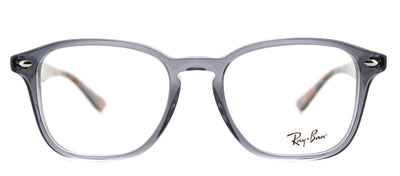 Ray-Ban RX 5352 5629 Square Plastic Grey Eyeglasses with Demo Lens