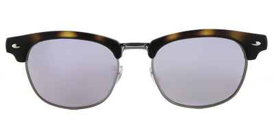 Ray-Ban Junior Jr RJ 9050 70184V Clubmaster Plastic Tortoise/ Havana Sunglasses with Purple Flash Mirror Lens