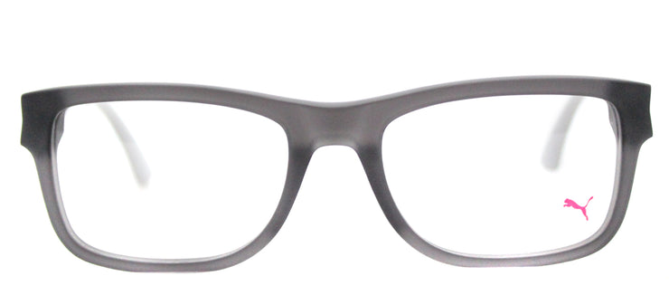 Puma PU 0047O 004 Rectangle Plastic Grey Eyeglasses with Demo Lens