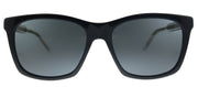 Gucci GG 0558S 001 Square Plastic Black Sunglasses with Grey Lens