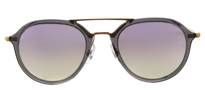 Ray-Ban RB 4253 62377X Square Plastic Grey Sunglasses with Lilac Flash Gradient Lens
