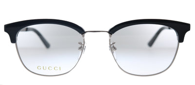 Gucci GG 0698OA 001 Square Plastic Silver Eyeglasses with Demo Lens