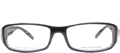 Tommy Hilfiger TH 1019 ISH Rectangle Plastic Grey Eyeglasses with Demo Lens