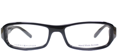 Tommy Hilfiger TH 1019 807 Rectangle Plastic Black Eyeglasses with Demo Lens