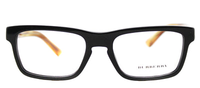 Burberry BE 2226 3604 Square Plastic Black Eyeglasses with Demo Lens