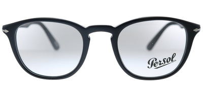 Persol PO 3143V 95 Rectangle Plastic Black Eyeglasses with Demo Lens