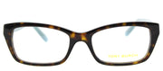 Tory Burch TY 2049 1359 Rectangle Plastic Tortoise/ Havana Eyeglasses with Demo Lens