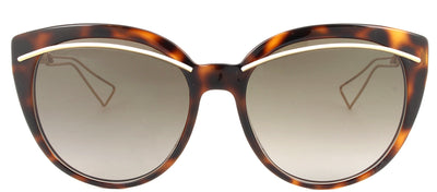 Dior CD DiorLiner UGM HA Cat-Eye Plastic Tortoise/ Havana Sunglasses with Brown Gradient Lens
