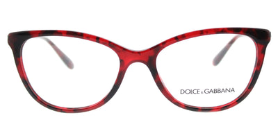 Dolce & Gabbana DG 3258 2889 Square Plastic Burgundy/ Red Eyeglasses with Demo Lens