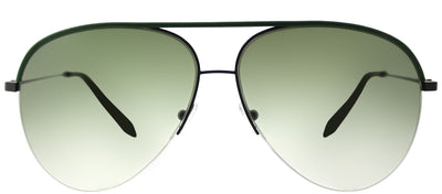 Victoria Beckham VBS 90 C16 Aviator Metal Green Sunglasses with Dover Street Green Lens