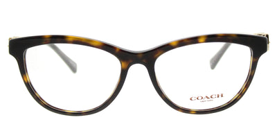 Coach HC 6087 5120 Cat-Eye Plastic Tortoise/ Havana Eyeglasses with Demo Lens