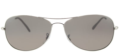 Ray-Ban RB 3562 003/5J Aviator Metal Silver Sunglasses with Silver Mirrored Chromance Polarized Lens
