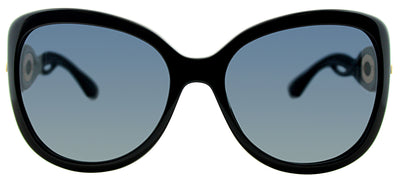 Dior CD TWISTING D28 Square Plastic Black Sunglasses with Grey Gradient Lens