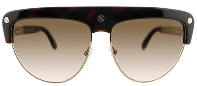 Tom Ford TF 318 52G Fashion Plastic Brown Sunglasses with Brown Gradient Lens
