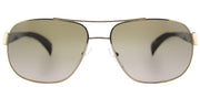 Prada PR 52PS ZVN1X1 Fashion Metal Gold Sunglasses with Green Gradient Lens