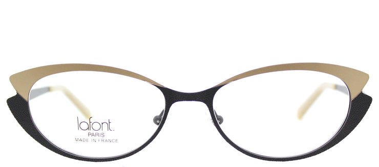 Lafont LF Tiphaine 181 Cat-Eye Metal Black Eyeglasses with Demo Lens