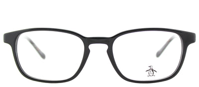 Original Penguin PE TakeAMull BT Rectangle Plastic Black Eyeglasses with Demo Lens