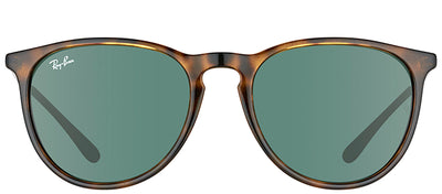Ray-Ban RB 4171 710/71 Oval Plastic Tortoise/ Havana Sunglasses with Green Lens