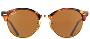 Ray-Ban RB 4246 1160 Clubmaster Plastic Tortoise/ Havana Sunglasses with Brown Lens