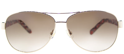 Kate Spade KS Dalia2 3YG Aviator Metal Gold Sunglasses with Brown Gradient Lens
