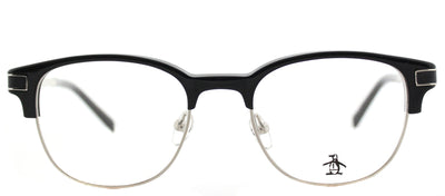 Original Penguin PE Princeton BK Square Plastic Black Eyeglasses with Demo Lens