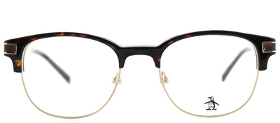 Original Penguin PE Princeton TO Square Plastic Tortoise/ Havana Eyeglasses with Demo Lens