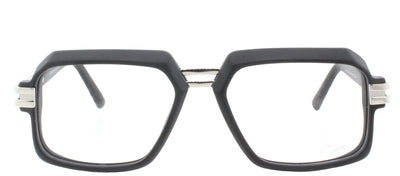 Cazal 6004 002 Rectangle Plastic Black Eyeglasses with Demo Lens