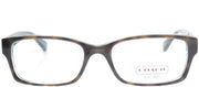Coach Brooklyn HC 6040 5116 Rectangle Plastic Tortoise/ Havana Eyeglasses with Demo Lens