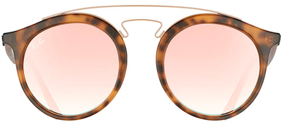 Ray-Ban RB 4256 6267B9 Fashion Plastic Tortoise/ Havana Sunglasses with Copper Mirrored Gradient Lens