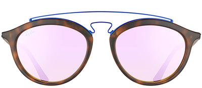 Ray-Ban RB 4257 6266B0 Fashion Plastic Tortoise/ Havana Sunglasses with Lilac Mirrored Gradient Lens