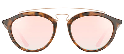Ray-Ban RB 4257 6267B9 Fashion Plastic Tortoise/ Havana Sunglasses with Copper Mirrored Gradient Lens
