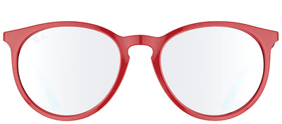 Ray-Ban RB 4274 6261B5 Round Plastic Burgundy/ Red Sunglasses with Pink Silver Mirror Lens