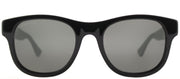 Gucci GG 0003S 006 Square Plastic Black Sunglasses with Grey Lens