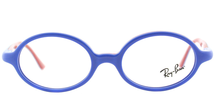 Ray-Ban Junior RY 1545 3703 Oval Plastic Blue Eyeglasses with Demo Lens
