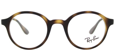 Ray-Ban Junior RY 1561 3616 Round Plastic Tortoise/ Havana Eyeglasses with Demo Lens