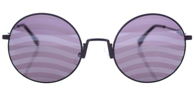 Fendi FF 0248 B3V Round Metal Purple Sunglasses with Violet Waves Lens