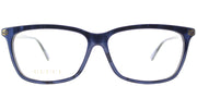 Gucci GG 0042OA 004 Cat-Eye Plastic Blue Eyeglasses with Demo Lens