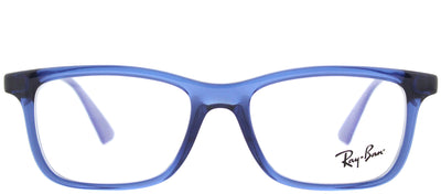 Ray-Ban Junior RY 1562 3686 Rectangle Plastic Blue Eyeglasses with Demo Lens
