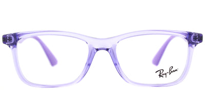 Ray-Ban Junior RY 1562 3688 Rectangle Plastic Purple Eyeglasses with Demo Lens