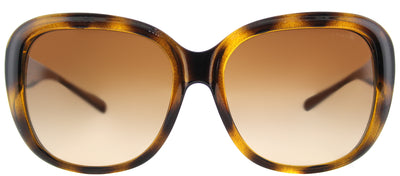 Coach HC 8207 539413 Square Plastic Tortoise/ Havana Sunglasses with Brown Gradient Lens