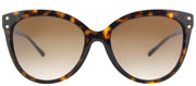 Michael Kors MK 2045 300613 Cat-Eye Plastic Tortoise/ Havana Sunglasses with Brown Gradient Lens