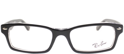 Ray-Ban Junior Jr RY 1530 3529 Square Plastic Black Eyeglasses with Demo Lens