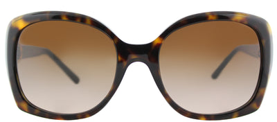 Tory Burch TY 7101 137813 Rectangle Plastic Tortoise/ Havana Sunglasses with Brown Gradient Lens