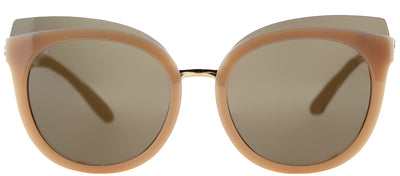 Tory Burch TY 9049 166373 Cat-Eye Plastic Pink Sunglasses with Brown Lens