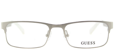 Guess GU 1731 Q63 Rectangle Metal Silver Eyeglasses with Demo Lens