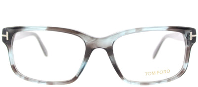 Tom Ford FT 5313 086 Rectangle Plastic Grey Eyeglasses with Demo Lens