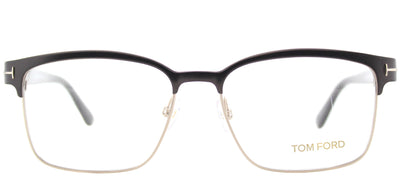 Tom Ford FT 5323 048 Square Plastic Brown Eyeglasses with Demo Lens