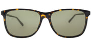 Gucci GG 0017S 002 Square Plastic Tortoise/ Havana Sunglasses with Brown Lens
