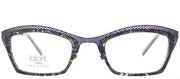 Lafont LF Variation 2030 Cat-Eye Plastic Grey Eyeglasses with Demo Lens