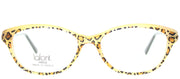 Lafont LF Victoire 380 Cat-Eye Plastic Yellow Eyeglasses with Demo Lens